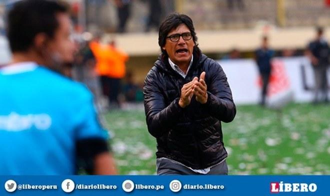 ¡LO TOMA CON CALMA! Ángel Comizzo ya piensa en el partido ante Vallejo en Trujillo