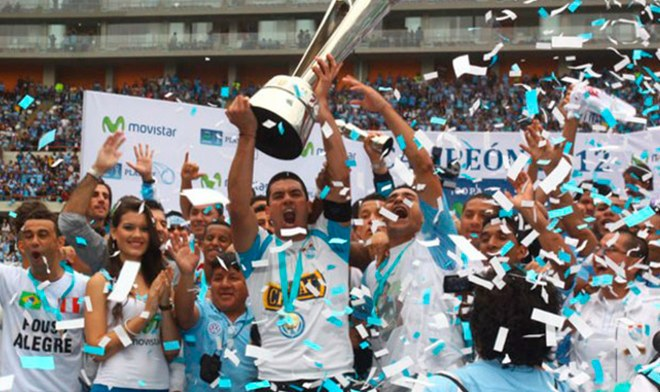 Sporting Cristal, Campeón 2012