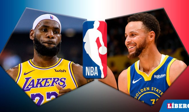 Básquet, NBA EN VIVO, Warriors vs Lakers, ESPN, Lebron James, Steph Curry, En Vivo.