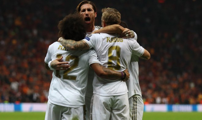 Real Madrid, Galatasaray, Champions League