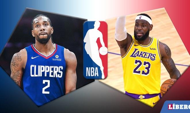 Lakers vs Clipplers EN VIVO