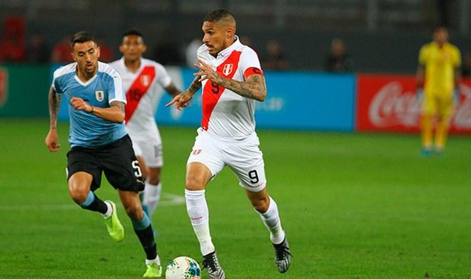 Selección peruana, Selección uruguaya, Amistosos FIFA