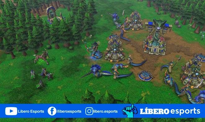 Dota Warcraft III Reforged clásico mapa será remasterizado
