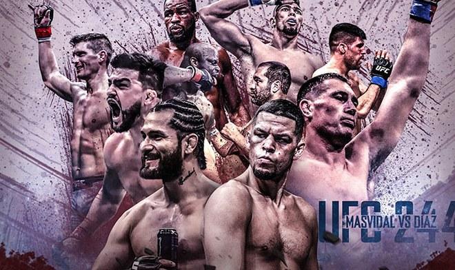UFC EN VIVO Diaz vs Masvidal ONLINE FOX Action UFC 244 GRATIS FOX Sports ESPN Fight Card Reddit hora México Argentina Canal TV Cartelera Link Stream Resultados YouTube VIDEO