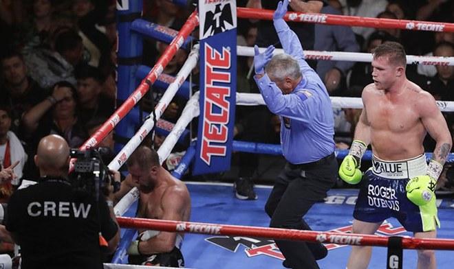 Canelo Alvarez vence a Kovalev por nocaut en el onceavo asalto Azteca TV Cartelera Box Space EN VIVO OMB México Repetición Pelea VIDEO YouTube