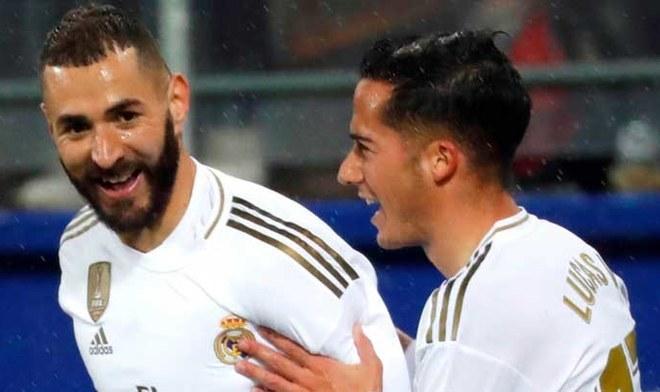 Real Madrid vs Eibar. FOTO: Difusión