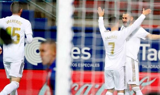 Real Madrid vs Eibar. FOTO: EFE