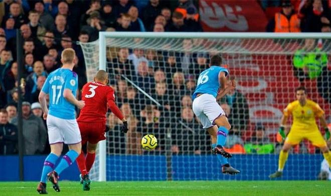 Gol de Fabinho. Crédito: Liverpool