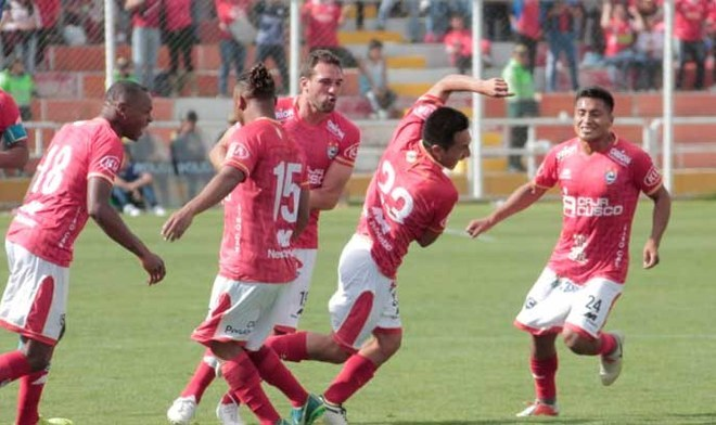 Cienciano vs Santos. Crédito: Liga 1 Movistar