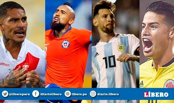Fecha FIFA 2019 EN VIVO Partidos Canales Latina Movistar TyC Sports horarios Guía TV Resultados Programación Amistosos Perú Colombia Argentina Brasil