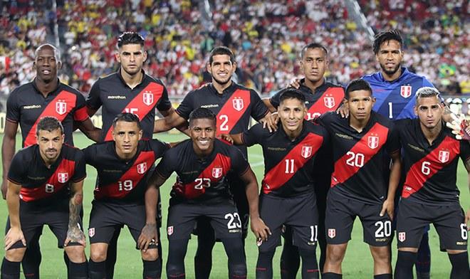 Selección peruana, amistosos Fecha FIFA
