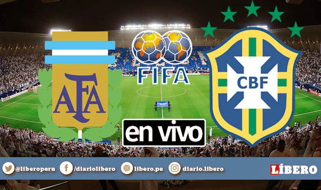 TyC Sports EN VIVO Argentina vs Brasil ONLINE Movistar TV GRATIS Cablevision arg vs bra Fecha FIFA TyC Play DirecTV Horario México Canal Streaming VIDEO