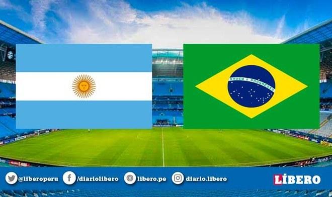 Argentina vs Brasil EN VIVO en amistoso internacional por fecha FIFA