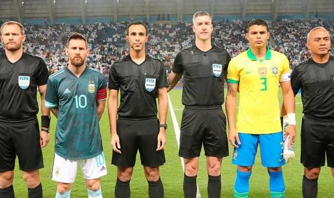 Argentina vs Brasil. FOTO: Difusión