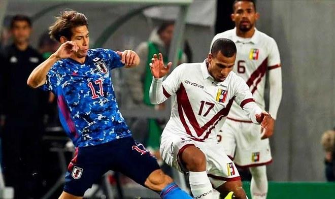 Venezuela venció por 4-1 a Japón en amistoso internacional por fecha FIFA