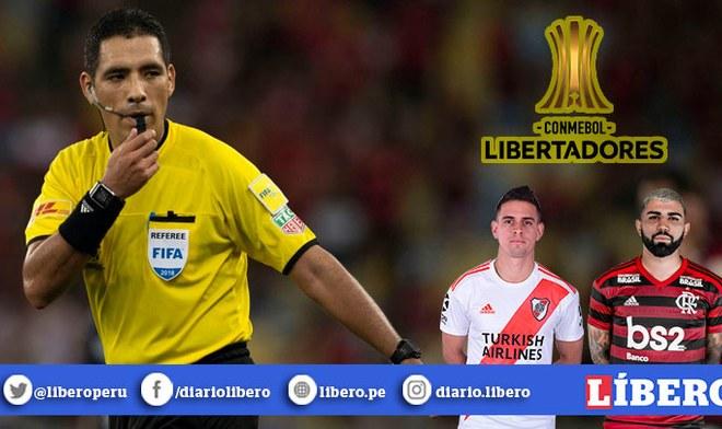 River vs Flamengo - Diego Haro