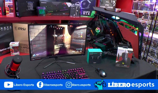 Streamer Arma PC para transmitir videojuegos Video computadora requisitos recomendaciones