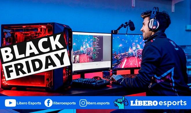 Black Friday ofertas streamer productos videojuegos mejores microfono programas pc software
