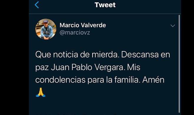 Juan Pablo Vergara, Binacional