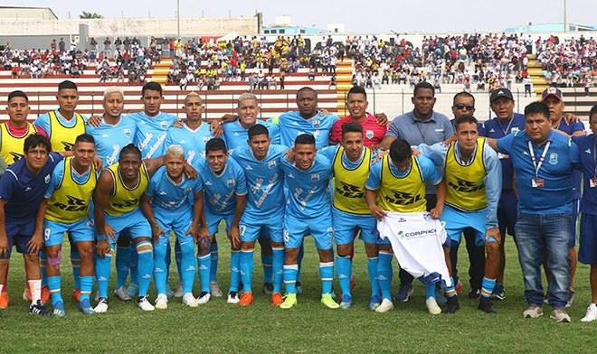 Deportivo Llacuabamba, Copa Perú, Liga 1 Movistar