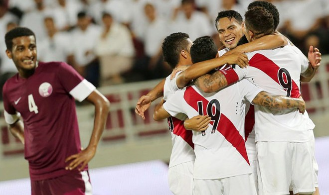 Perú vs Qatar