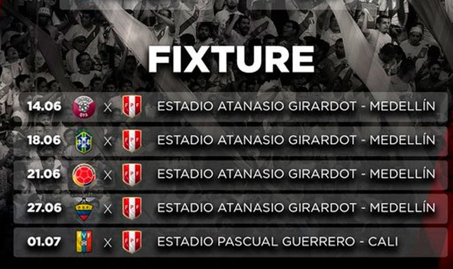 Conoce el camino de la Selección Peruana en la Copa América 2020