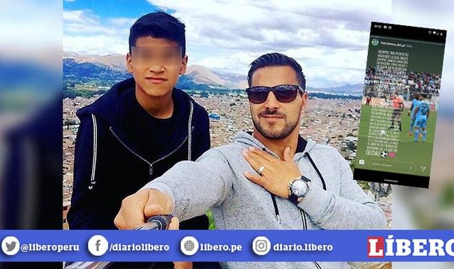 Juan Pablo Vergara: Hijo de futbolista fallecido le dedicó emotiva carta de despedida en Instagram
