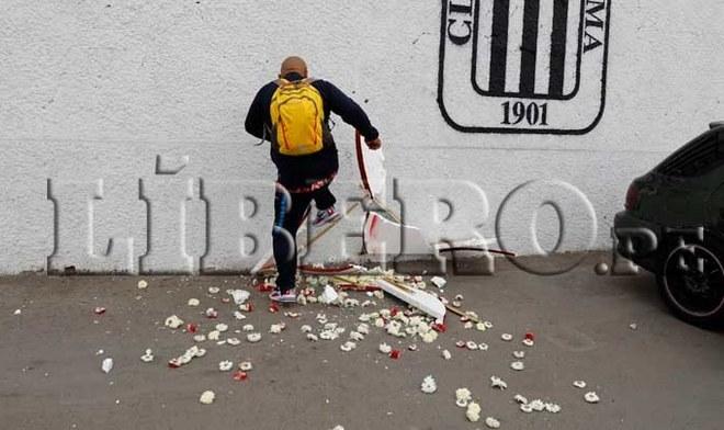 Alianza Lima arreglo floral