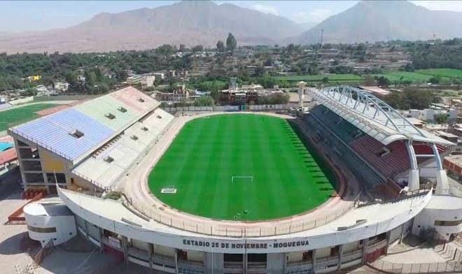 Estadio 25 de noviembre - Moquegua