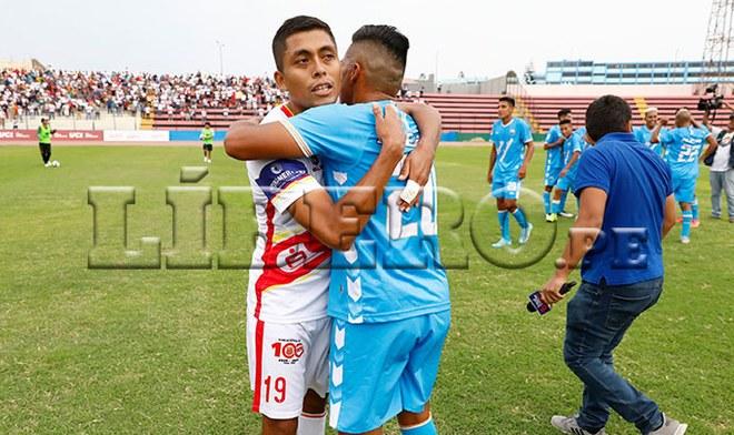 Grau y Llacuabamaba solo remataron dos veces al arco y ambos consiguieron el ascenso a la Liga 1 2020