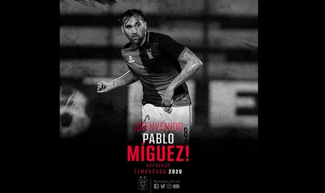 Pablo Míguez, Melgar