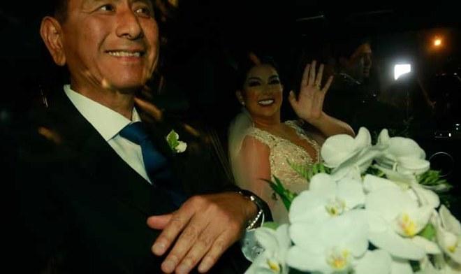 Edison Flores Ana Siucho inesperada reacción cuando Orejas Flores quiso besarla tras su primer baile como esposos