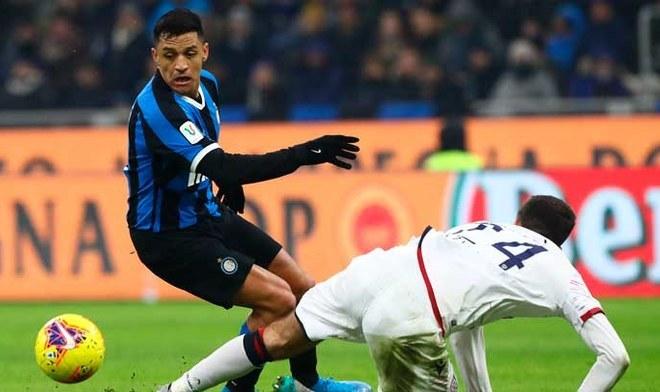 Inter de Milán venció por 4-1 a Cagliari