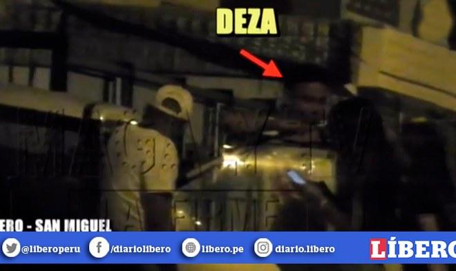 Jean Deza y Carlos Ascues