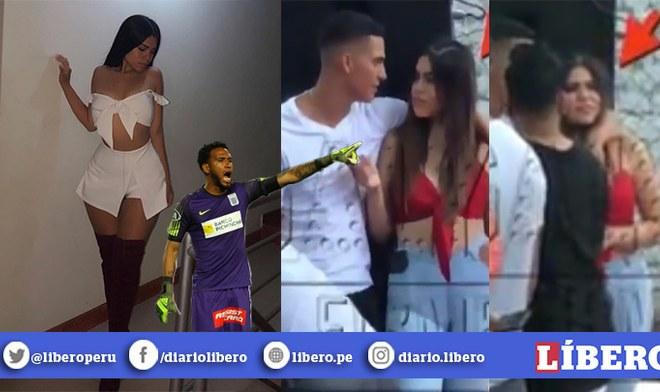 Lucero Jara fue captada en fiesta de la que participó Carlos Ascues