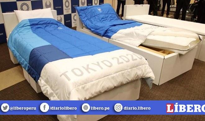 Tokio 2020: camas para deportistas de los Juegos Olímpicos serán 'anti sexo'