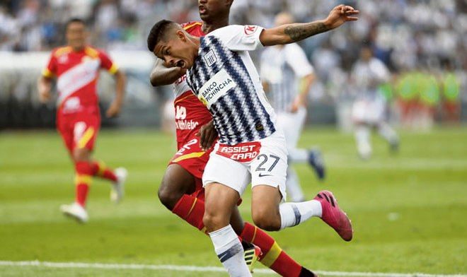 Alianza Lima, Kevin Quevedo.