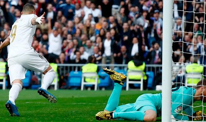 Real Madrid venció 1-0 a Atlético de Madrid y sigue como líder de LaLiga Santander