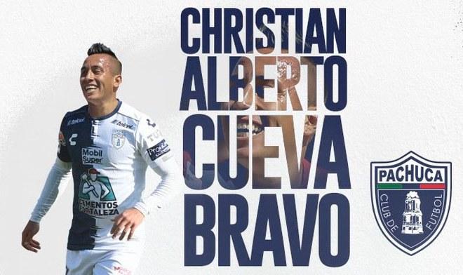 Christian Cueva debutó con Pachucha y anotó un doblete ante Puebla