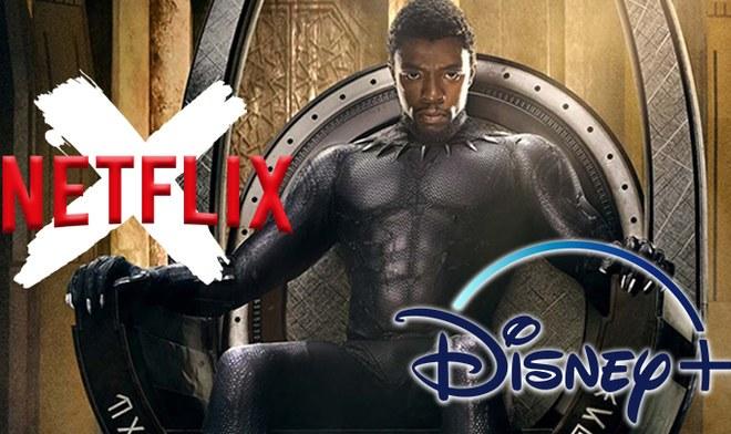 Netflix   Black Panther: Película de Marvel deja streaming el 3 de marzo 2020 fecha confirmada Disney Plus   Pantera Negra   Chadwick Boseman   MCU   Twitter