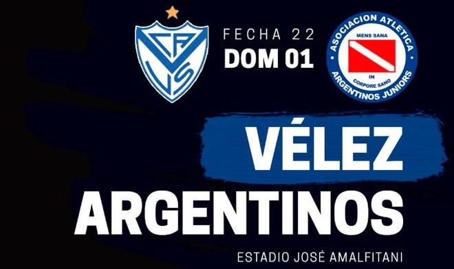 velez vs argentinos juniors