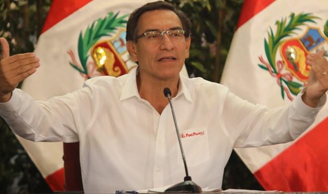 Martin Vizcarra EN VIVO Coronavirus Peru Mensaje a la nacion hoy 24 de marzo infectados muertes horario Canal N VIVO America TV Peru YouTube