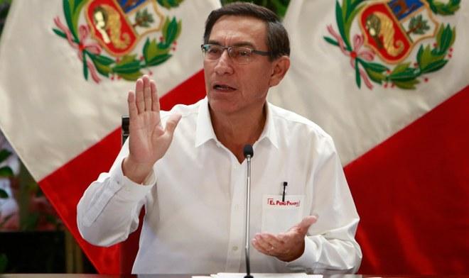 Martin Vizcarra Coronavirus Peru Mensaje a la nacion hoy martes 24 de marzo 416 infectados 7 muertes horario Canal N EN VIVO America TV GO Peru YouTube