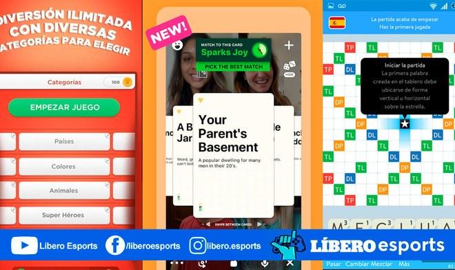 10 apps gratis para jugar online con amigos en cuarentena uno monopoly parchisi apalabrados stop android ios pinturillo preguntados houseparty