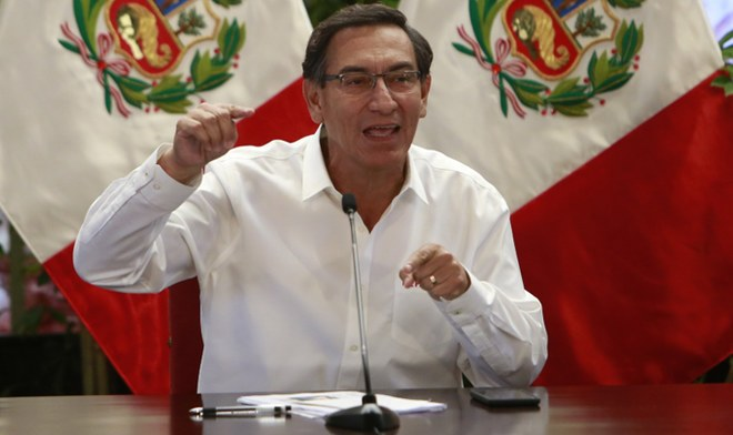 Martin Vizcarra EN VIVO Coronavirus Peru Mensaje a la nacion hoy 26 de marzo infectados muertes Minsa Canal N VIVO America TV Peru YouTube