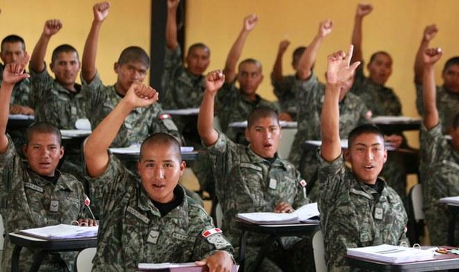 Ejército Perú - coronavirus