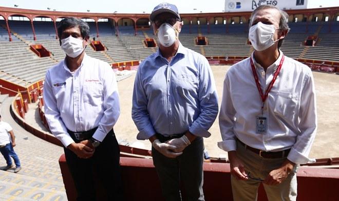 Coronavirus Peru Revista Time publica video via Twitter al Peru por usar plaza toros acho como albergue
