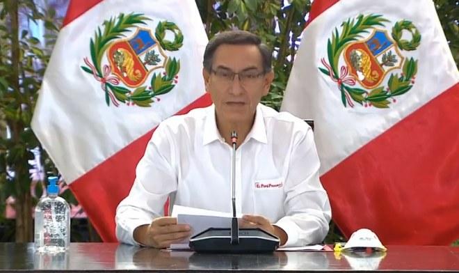Martín Vizcarra Coronavirus Perú