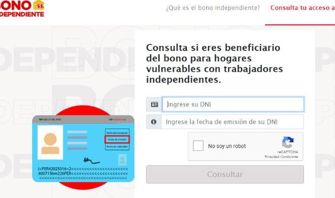 Bono independiente 2020 como saber si soy beneficiario de los 380 soles donde me toca cobrar banco Confiep Yomequedoencasa Banco de la Nacion