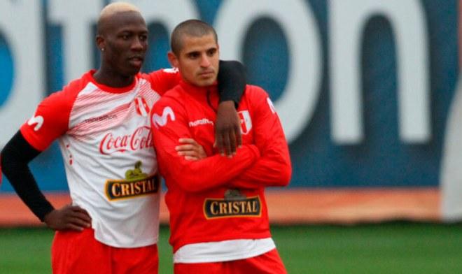 Luis Advíncula, Aldo Corzo, Selección peruana